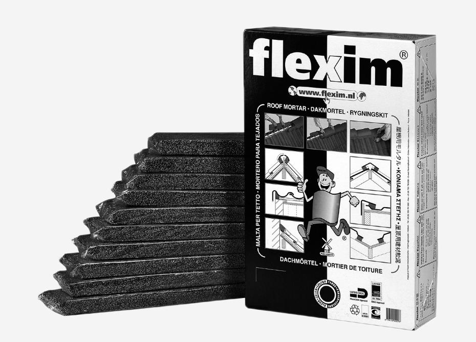 Verpakking Flexim zwart